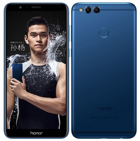 7X Huawei Honor officially presented