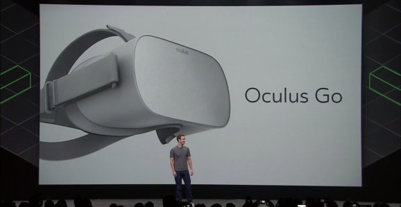 Is a stand-alone VR headset Oculus Go cost $ 199