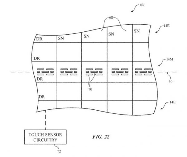 Updates Apple patent application for flexible displays due to the growing number of rumors around the new OLED iPhone