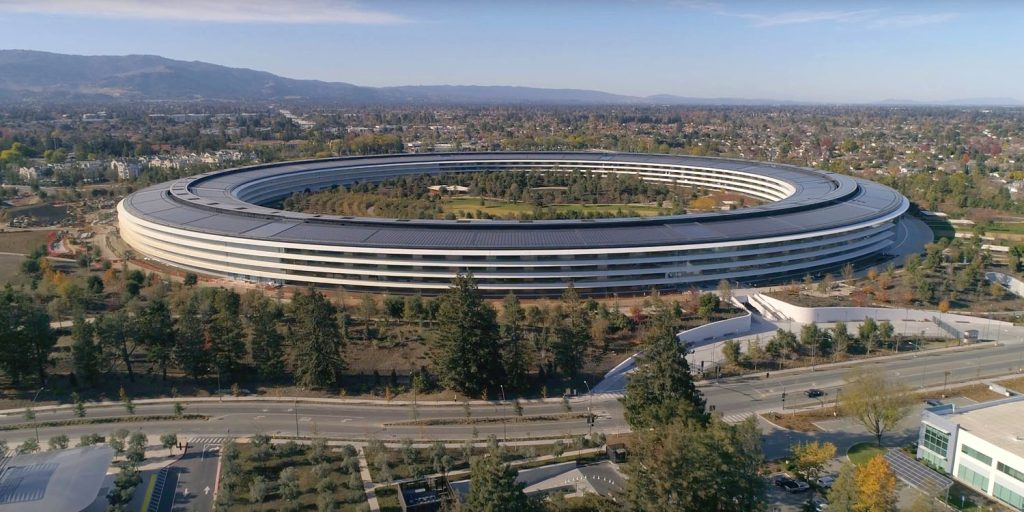 Apple Park is more like a nature reserve, which dreamed jobs