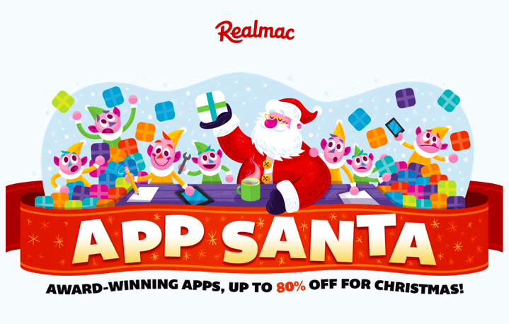 Realmac, the company offers discounts of up to 80% on popular games & apps