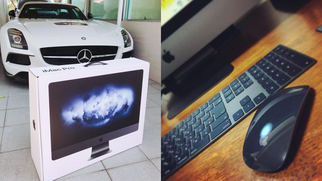 The first owners of iMac Pro already boast a novelty in Instagram