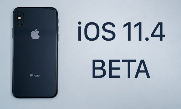 Released the second beta iOS version 11.4