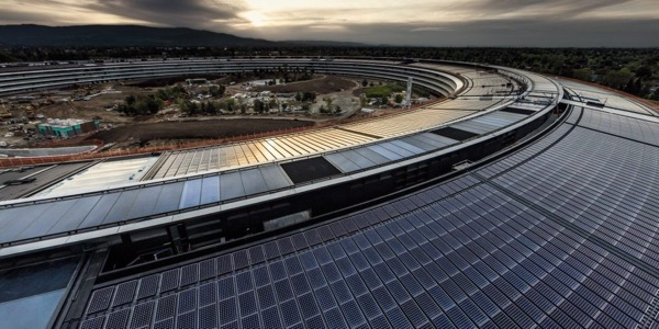 Apple has become a completely green company