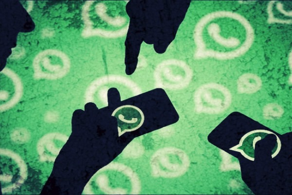 The police used a photograph of fingerprints from WhatsApp to identify the suspect