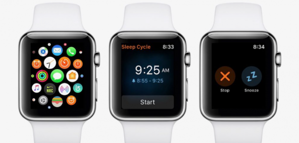 The Apple Watch will help to deal with snoring
