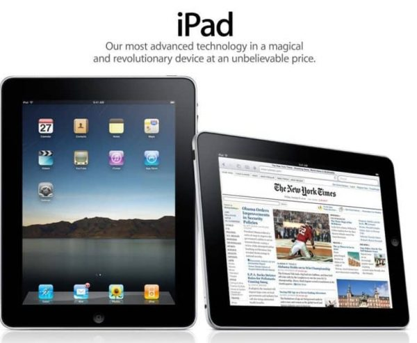 Eight years ago ended a moratorium on the iPad
