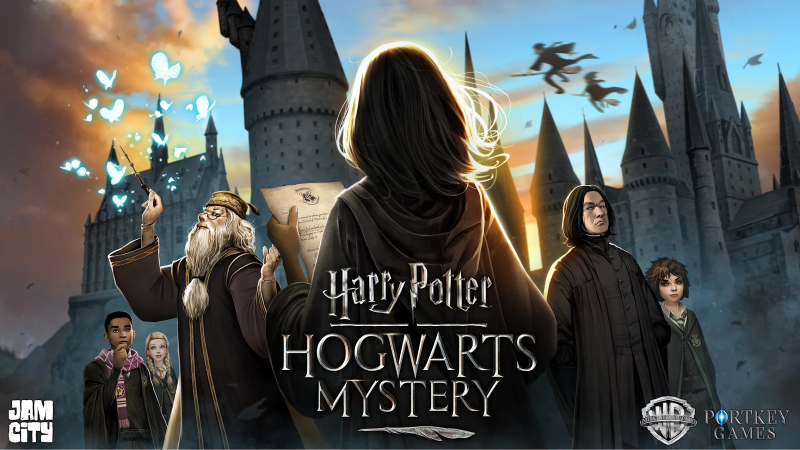 We recommend the game Harry Potter: Hogwarts Mystery