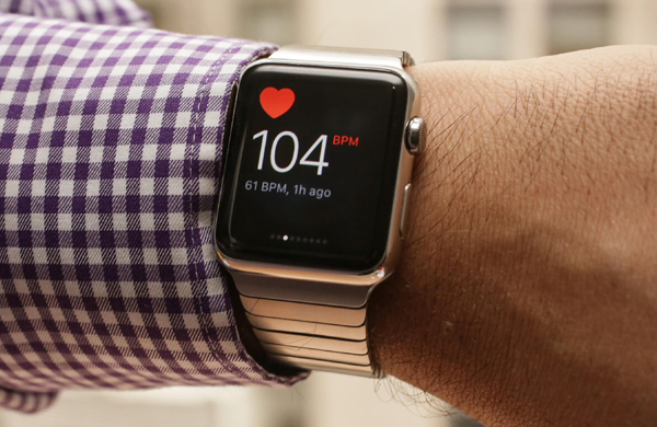 Apple Watch have helped the Briton to diagnose a serious heart condition
