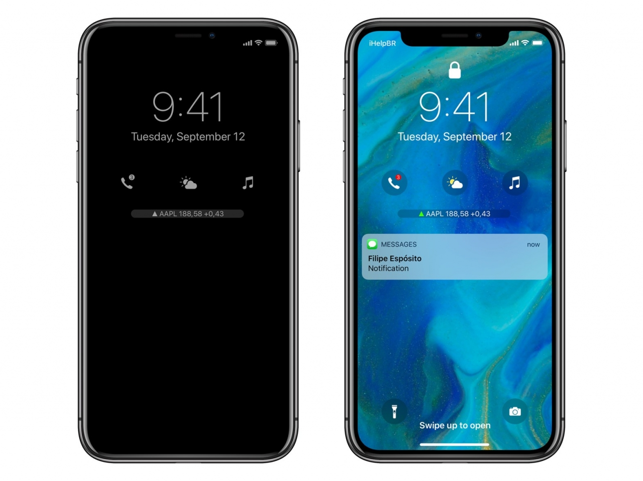 In the network appeared the concept of iOS 12 Apple Watch widgets on the lock screen