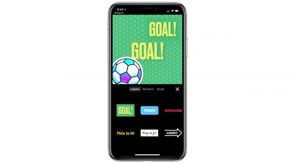 Apple has updated the app Clips in honour of FIFA