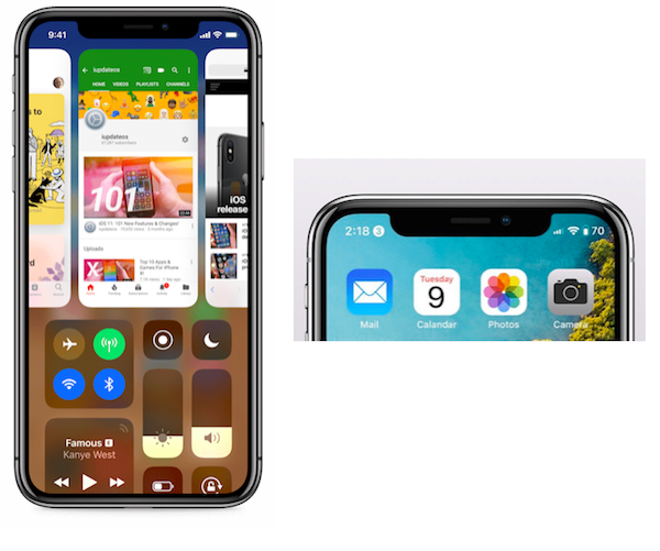 This should be iOS for iPhone X