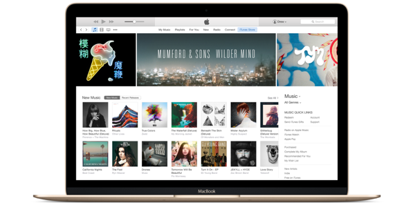 The new version of iTunes for Mac and Windows
