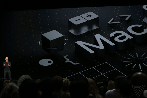 Apple introduced macOS 10.14 Mojave
