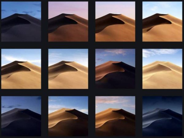 The Wallpaper of macOS Mojave has already appeared in the network