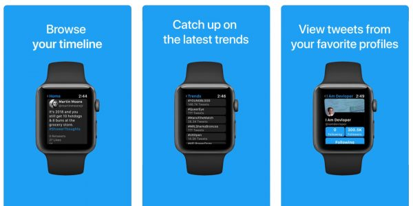 How to start a full-fledged Twitter on Apple Watch