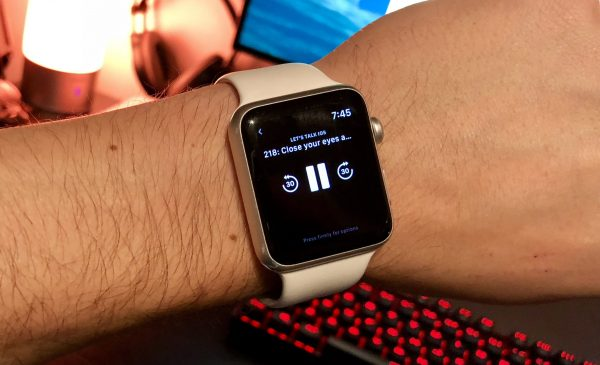 Apps for listening to podcasts will work with limitations on the Apple Watch