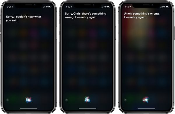 Users complain of bugs Siri in iOS 12