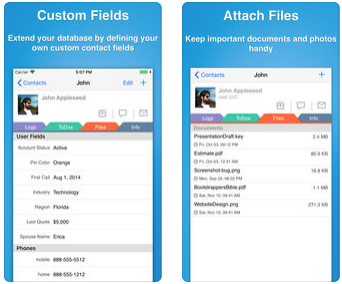 What's in my iPhone: Contacts Journal CRM — contact management system