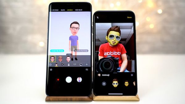 Apple vs Samsung: compare Memoji and Emoji AR