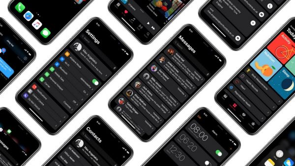In iOS 12 can appear dark theme