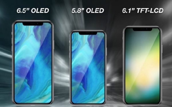 First look at the iPhone Plus X and 6.1-inch iPhone video