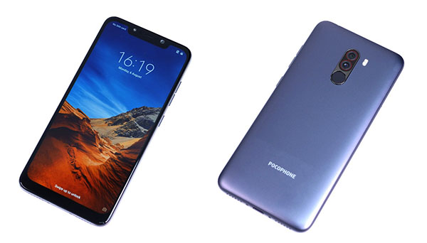 Unboxing Xiaomi Pocophone F1 was leaked before the release of the device