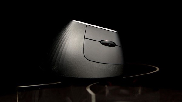 Logitech introduced its first vertical mouse
