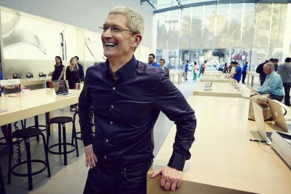 Tim cook donated 5 million dollars to charity