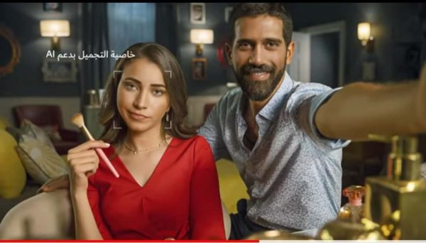 Huawei uses professional photography in advertising the capabilities of their smartphones