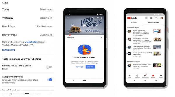 Google will tell you how much time you spend on YouTube
