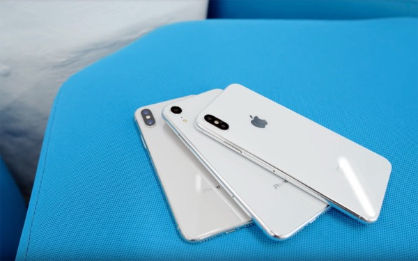 Three new iPhone shown on video