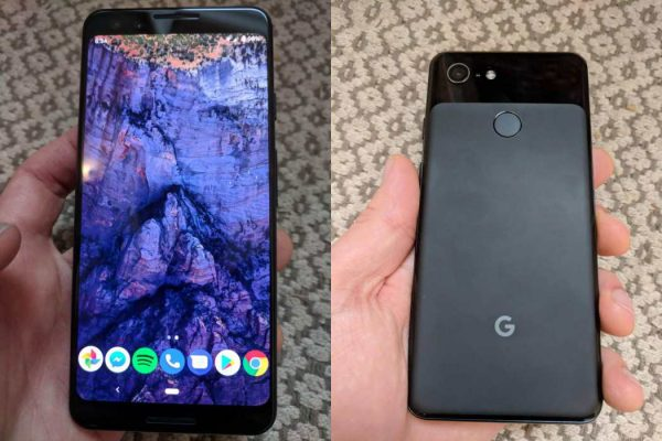 The first photos of the Google Pixel 3 without bangs