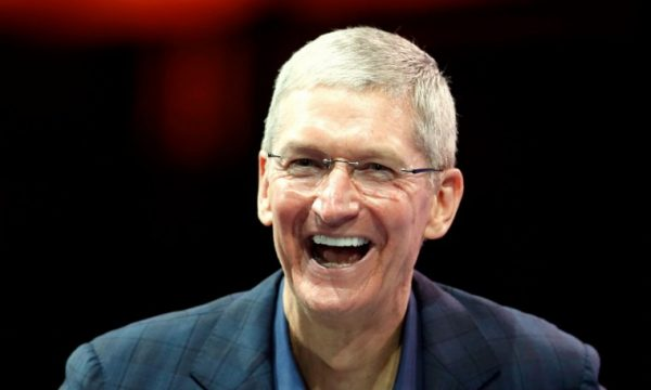 Tim cook, the highest — paid CEO, not including Mark Zuckerberg