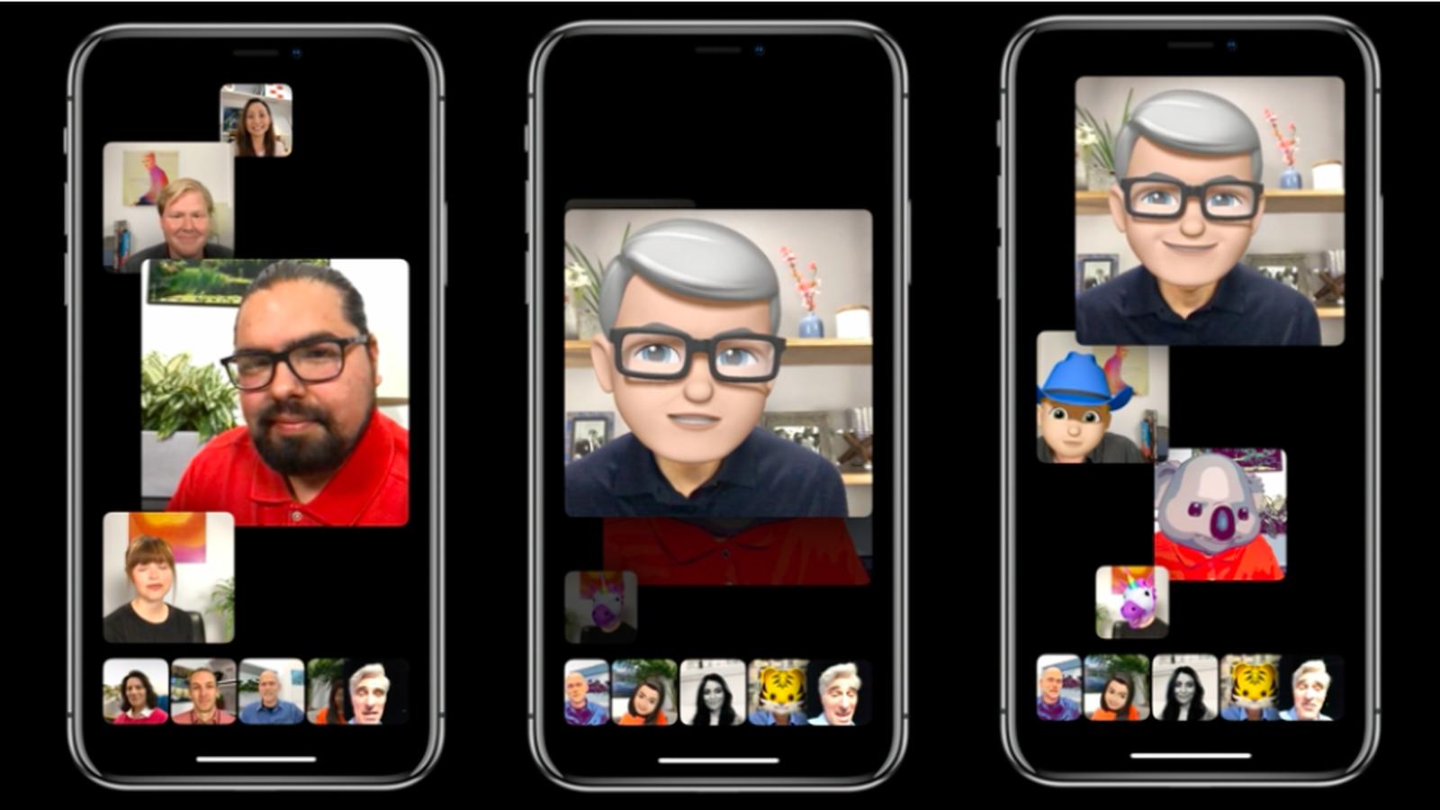MacOS 10.14.1 beta 1 returned group calls on FaceTime