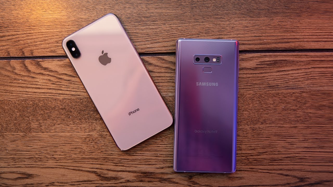 iPhone XS Max vs Galaxy Note 9: the performance