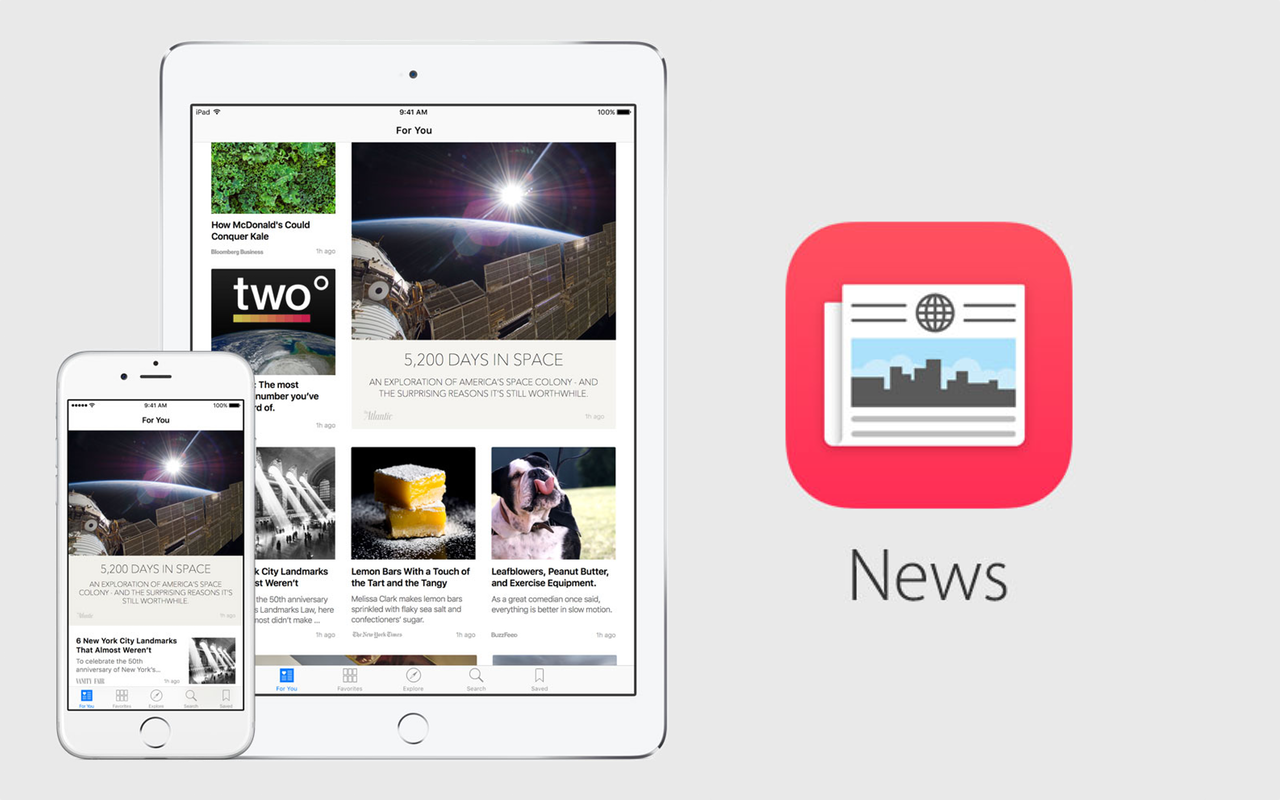 New in macOS Mojave: news Apple News