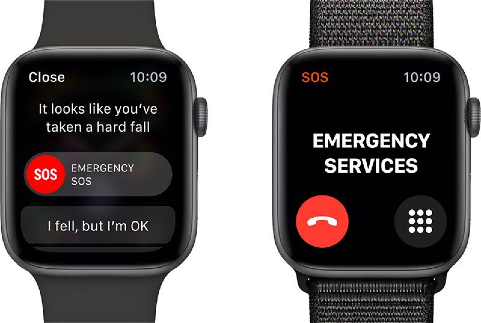 New Apple Watch will not identify drop by default, if the user is under 65 years