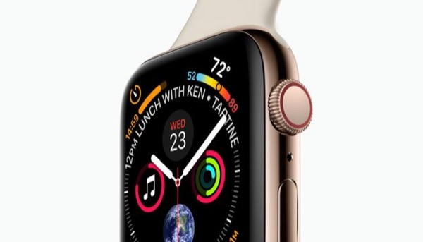 Apple patented the design of the Apple Watch Series 4