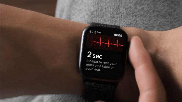 The ECG app on the Apple Watch Series 4 will work in four European countries