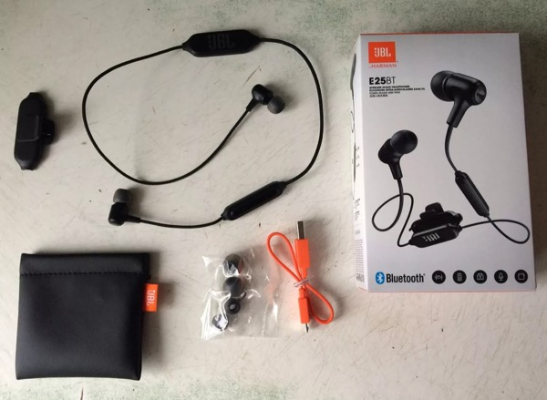 Headphones JBL E25BT — controversial model is known to the company