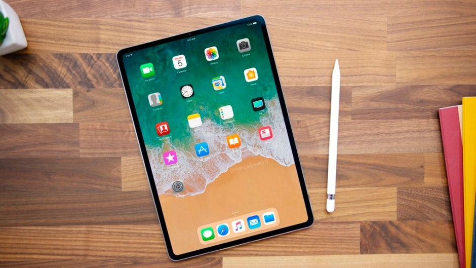 """iPad 2018 will come with """"bangs"""" but no """"Home""""button"""