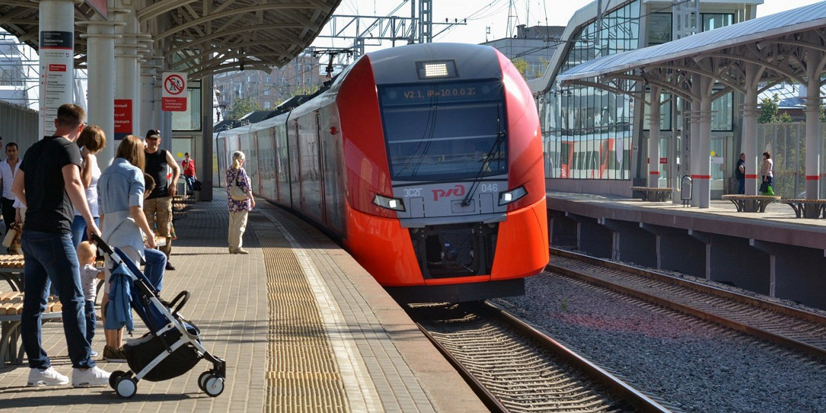 Russian Railways begin tests of an unmanned train in Moscow