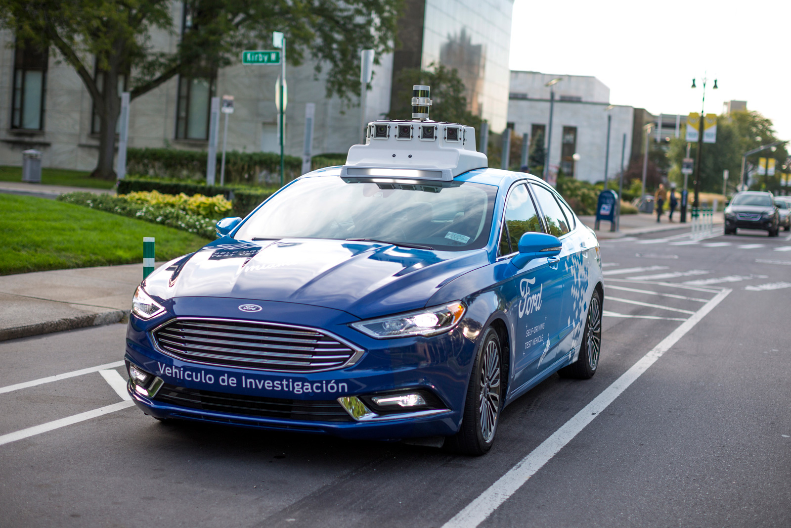 Patent Ford makes controlling Autonomous cars in a mobile game