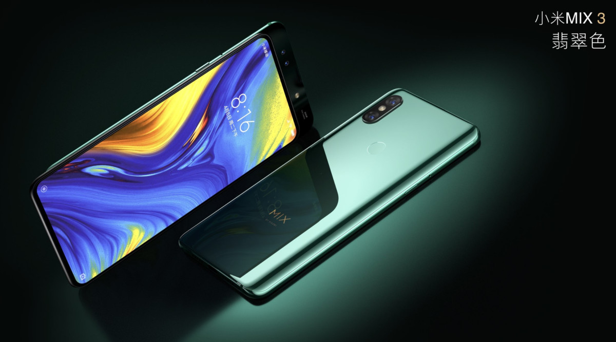Xiaomi has released the frameless slider – Mi Mix 3