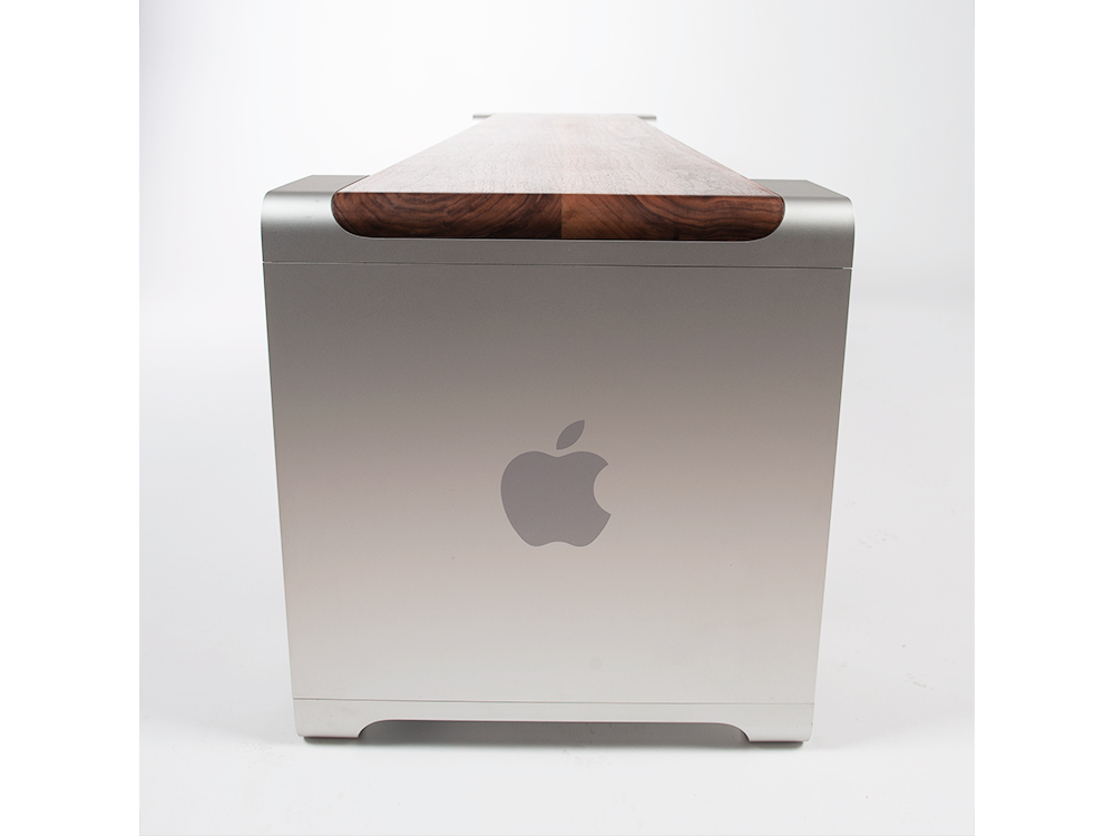 The designer has transformed the Power Mac G5 and Mac Pro in expensive bench