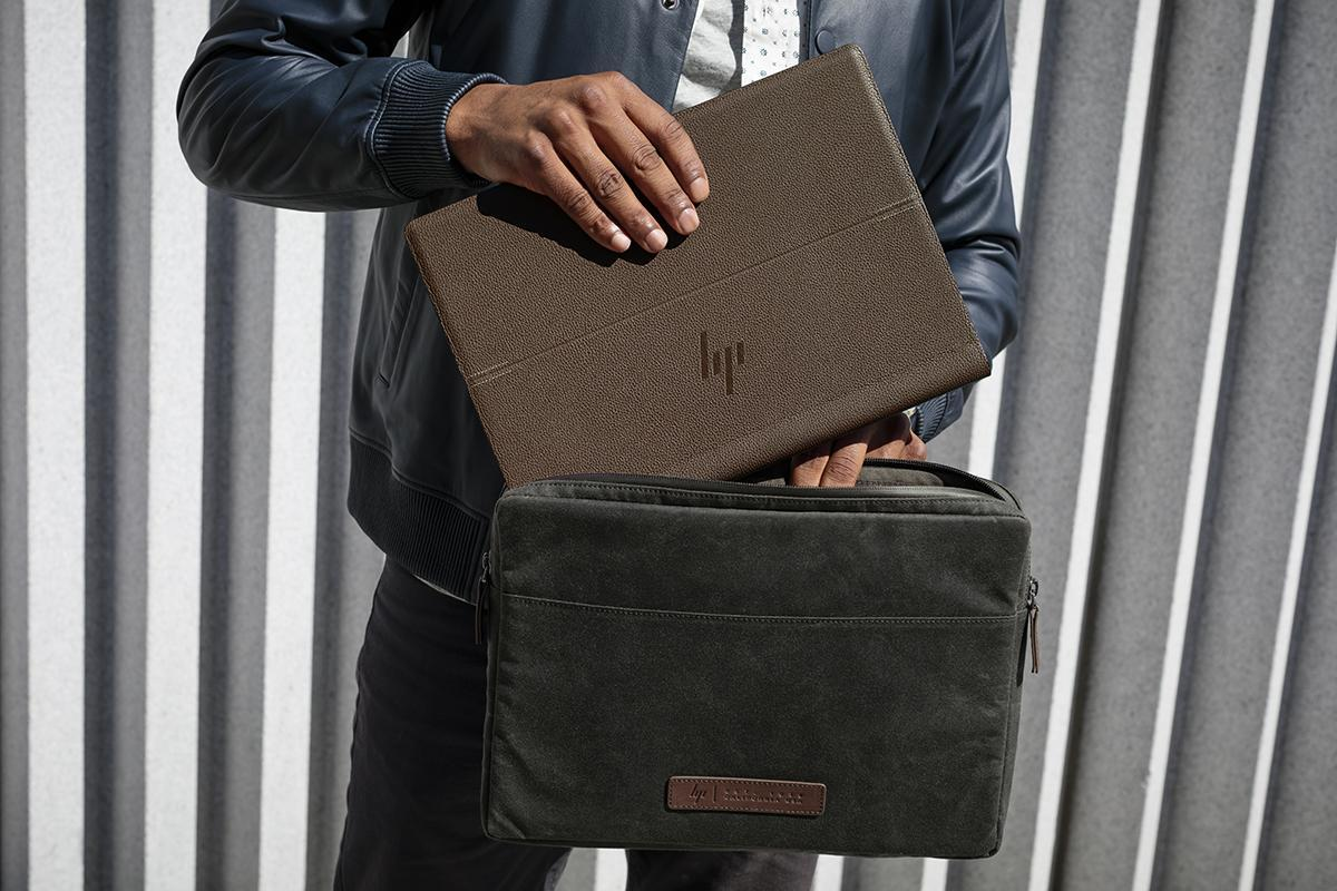 HP has released leather notebook