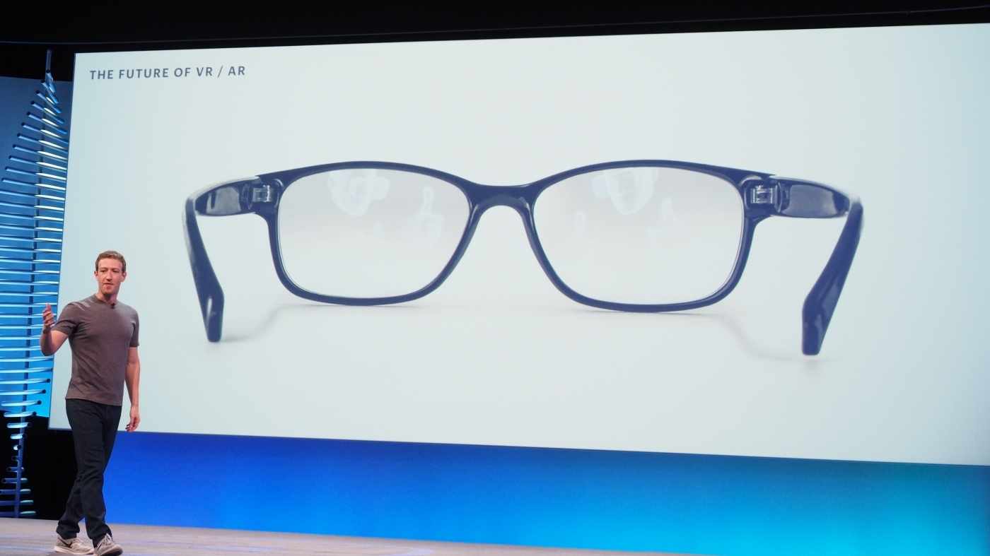 Facebook has confirmed that it is working on augmented reality glasses