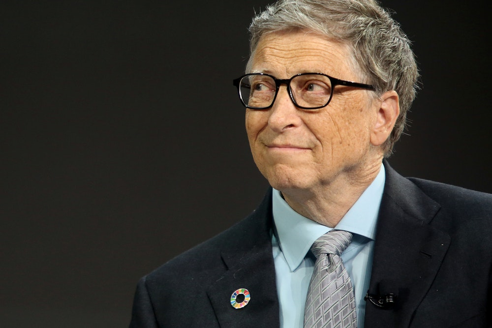Bill gates became the richest person in USA according to Forbes