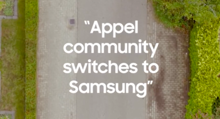 Untranslatable play on words, or as marketers Samsung earn my salary